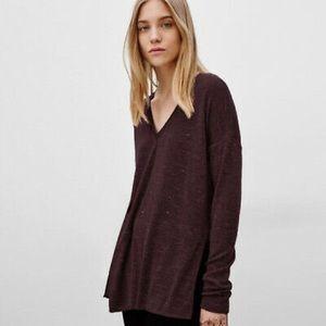 Wilfred Aritzia Sherbrooke V Neck Sweater Size XS